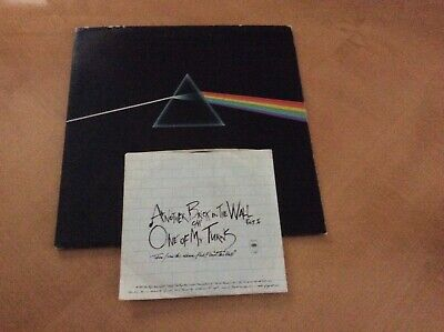 Dark Side of the Moon by Pink Floyd  - Harvest smas 111163 also the wall 7 inch