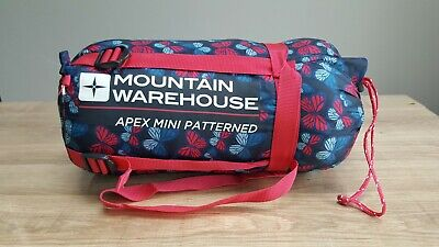 2106523a4281 MOUNTAIN WAREHOUSE KIDS Apex Mini Patterned Sleeping Bag