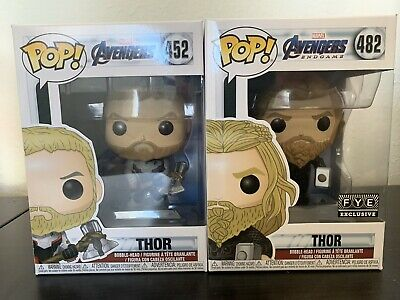 FUNKO Pop Marvel AVENGERS ENDGAME THOR Team Suit #452 4inch Vinyl MINT