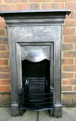 Victorian / Edwardian Cast Iron Bedroom Fireplace(Free Delivery)
