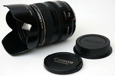Canon EF 28-105mm F3.5-4.5 USM AF Zoom Mark II + UV filter + EW63II lens Hood