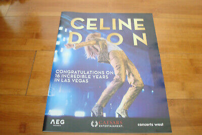 CELINE DION 2019 congrats ad for 16 Years at Las Vegas Residency, Caesars Palace