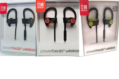 New Sealed Beats by Dr Dre Powerbeats3 In-Ear Wireless Bluetooth Headphones