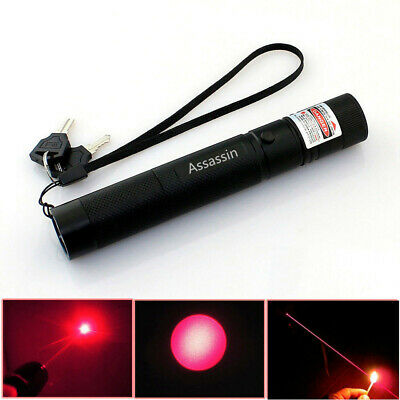 50Miles Bright Red Laser Pointer Pen 650nm Visible Beam Portable Funny Pet Toy