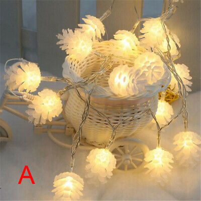 3M 20 LED Christmas Fairy String Light Warm White Light Xmas Tree Outdoor Dec SU