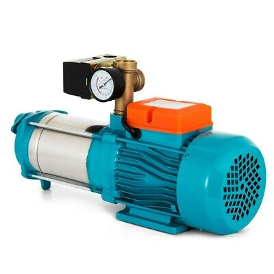 1300W Centrifugal Booster Water Pump 5100 L/H Max 146m 5.1 bar Stainless Steel