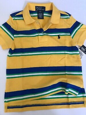 2 2t BOYS POLO SHIRT NWT LOGO RALPH LAUREN RETAIL $35.00 NEW WITH TAGS