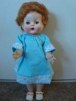 "14"" vintage hard plastic RODDY  doll MADE IN ENGLAND"