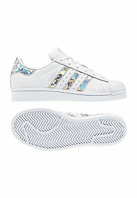 Adidas SUPERSTAR J F33889 BiancoArgento mod Chaussures pour