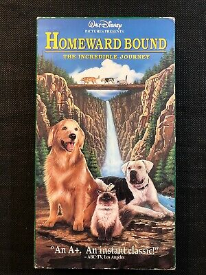 Homeward Bound: The Incredible Journey (VHS, 1993) Robert Hays, Kim Griest