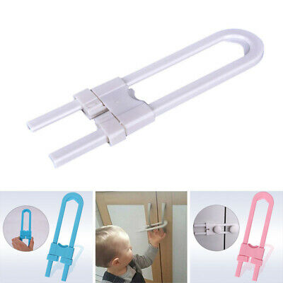 Child Infant Baby Kids Safety Drawer Door Cabinet Cupboard U Shape Security L SU
