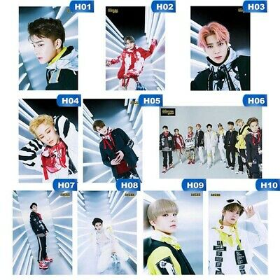 KPOP NCT127《WE ARE SUPERHUMAN》New Album Photo Poster HAECHAN MARK Hanging Poster