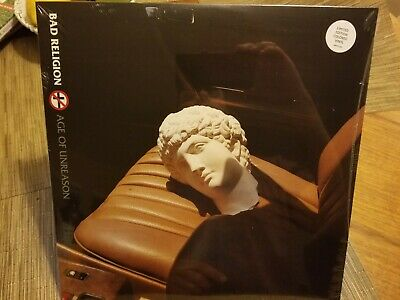 Bad Religion ‎– Age Of Unreason (LP) limited opaque white vinyl, sealed