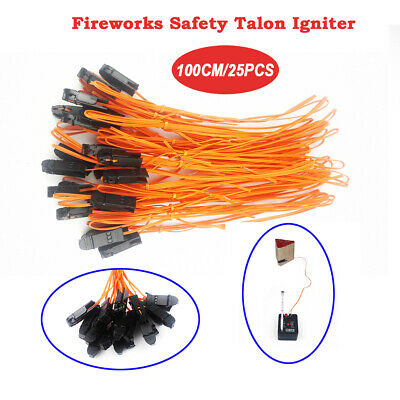 25 piece 1M Safety Talon Igniter Match for Firework Firing System Electric Wire
