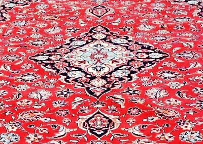 Authentic, Certified Hand-Knotted Kaschan Wool Rug (225 cm x 320 cm)