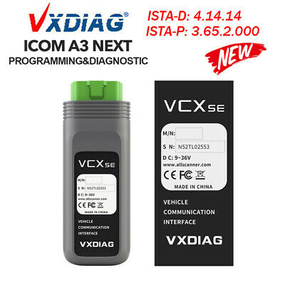 Auto Diagnostic Scanner Tool OBD2 ECU Programming VXDIAG VCX SE For BMW+500G HDD