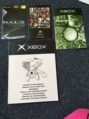 X Box Promo Leaflets And Instruction Manual