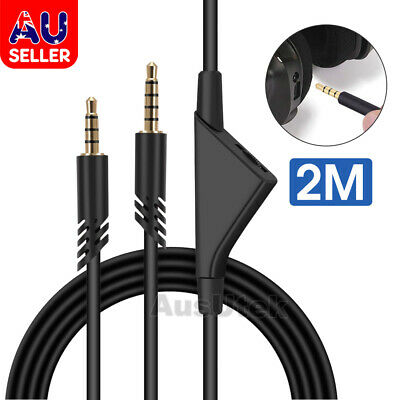 3.5mm Gaming Headset Stereo Replacement Cable Cord for Astro A10/A40/A30/A50 AU