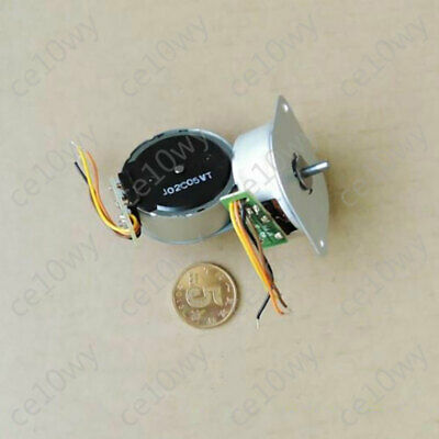35mm Stepper Motor 2-Phase 4-Wire Micro Stepping Motor 3mm Shaft Round for DIY