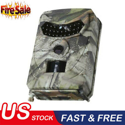 1080P 18MP HD Hunting Trail Camera Video Wildlife Scouting Infrared Night Vision