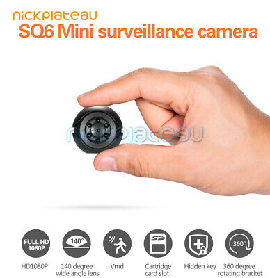 Mini Spy IP Camera Wireless HD 1080P Hidden Home Security Night Vision DVR