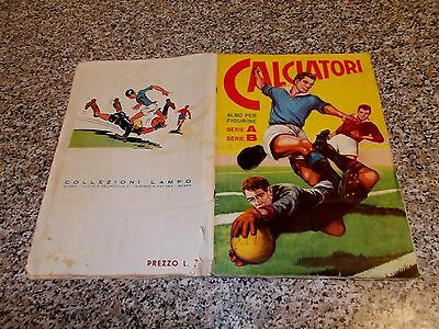 Album Calciatori 1959 1960 Completo Prova Lampo Figurine Cartonate Unico In Ital