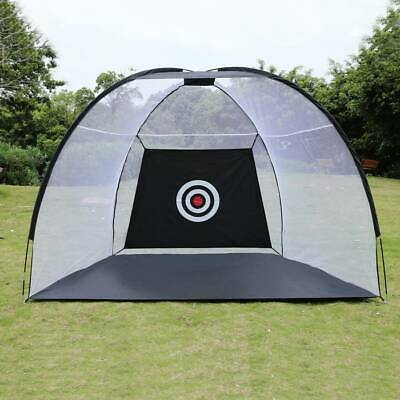Golf Net Training Aid Hitting Practice Lawn Driving Range Cage Tent Exercise US