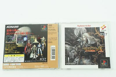 CASTLEVANIA Akumajo Dracula X Best PS1 KONAMI Sony Playstation 1 From Japan