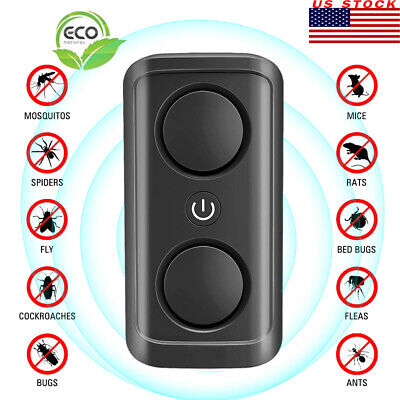 ULTRASONIC PEST REPELLER Electronic Plug In Control