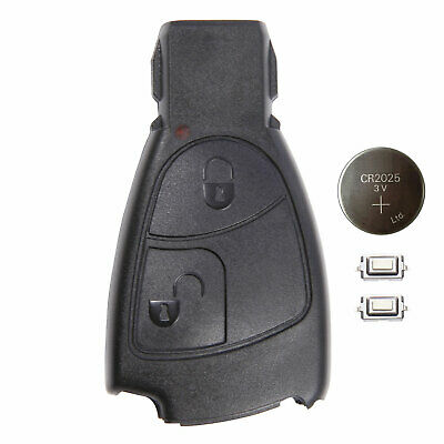 NEW For MERCEDES BENZ SMART KEY FOB REMOTE 2 BUTTON SHELL CASE C E