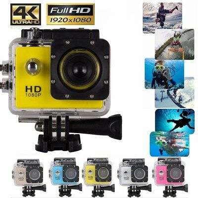ACTION CAMERA SPORT IMPERMÉABLE ULTRA HD 4K 1080P 12MP GOPRO STYLE DV Caméscope