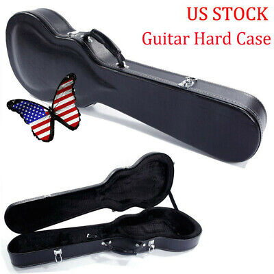 Glarry High Grade Electric Guitar Hard Case For Strat Les Paul Collecting Gifts