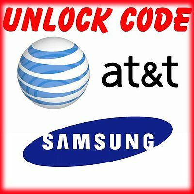 SAMSUNG UNLOCK CODE SERVICE GALAXY S10 S9 S8 S7, S6, S5, NOTE ALL models AT&T