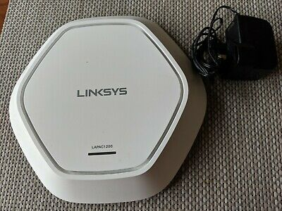 LINKSYS LAPAC1200 AC1200 Dual Band Access Point Next Generation Wi