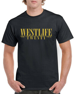 Westlife Reunion Adults Mens Ladies T-Shirt 2019 Tour Pop Crossover Music Tee