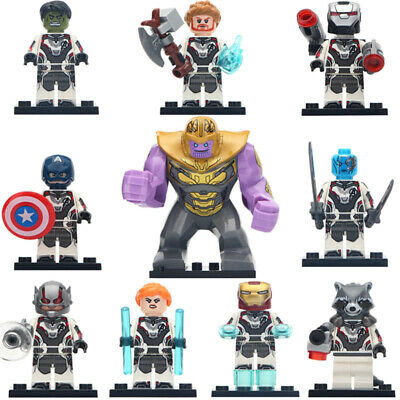 Marvel Avengers End Game Minifigure Iron Man Hawkeye Nebula Lego Moc Minifigures