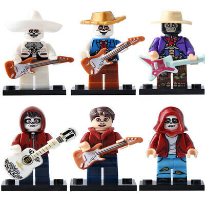 Miguel /& Hector Rivera The Day Of The Dead Coco Figure Custom Lego Minifigures