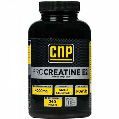 CNP Pro Creatine E2 240 caps Increase Muscle Growth Explosive Strength Enhance