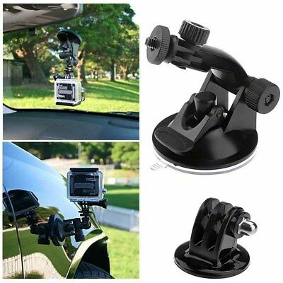 Vacuum Suction Cup Car Mount Windscreen Bracket Holder for GoPro Hero 6/5/4 #E4