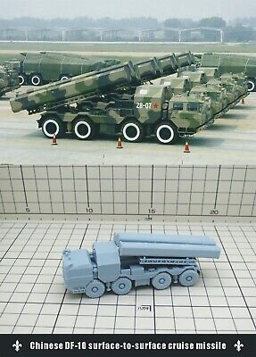 1/144 RESIN KITS Chinese DF-10 surface-to-surface cruise missile