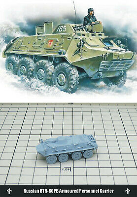 1/144 RESIN KITS Russian BTR-60PB Armoured Personnel Carrier
