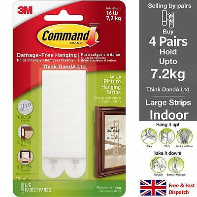 3M Command™ Picture Frame Hanging Adhesive Stick on Strips Damage Free