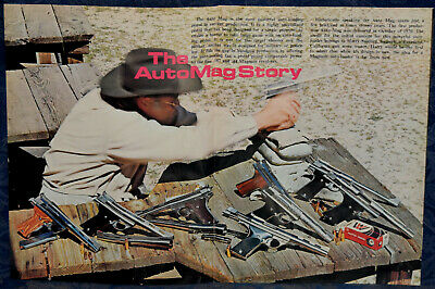 """Vintage ORIGINAL Article """"The AUTOMAG Story""""  5-p Magazine Article/Ad 1974"""