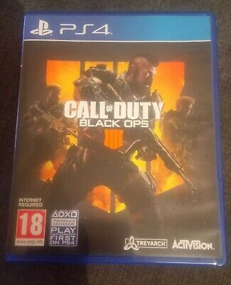 Call Of Duty-Black Ops 4(Sony Playstation 4/PS4) Preowned