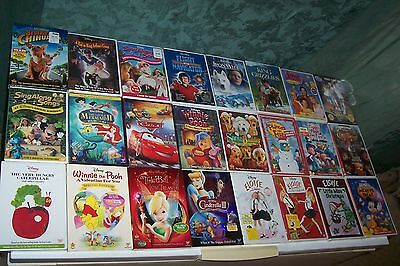 Lot Of Dvd,Disney,Christmas,Mister Rogers,Pink Panther Collection,Scooby Doo,New