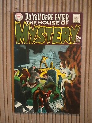 House Of Mystery     Dc Comics        # 177
