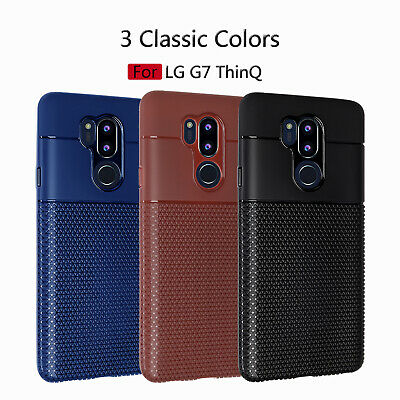 6c78eb0180d For LG G7 ThinQ K8 2018 K9 Luxury Ultra Slim Shockproof Rubber Soft Case  Cover