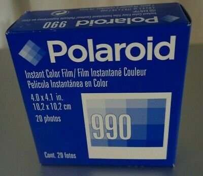 EXPIRED Polaroid 990 High Definition Color Film 2 packs. Expration Date Jan 2005