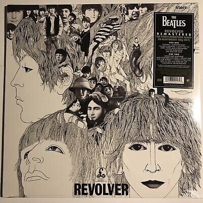 THE BEATLES / REVOLVER 2012 Reissue SEALED NEW PCS 7009 STEREO REMASTERED VINYL