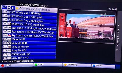 Iptv Subscription Best Hd Channels Indian Usa Latino Cricket World Cup Lot